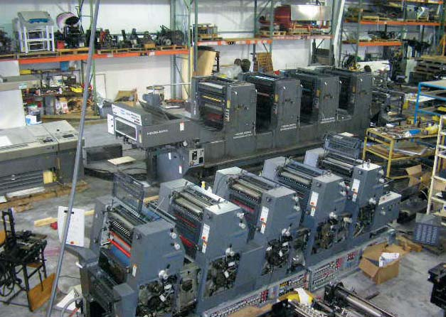Sell Used Heidelberg parts and presses to Demers Parts