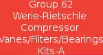Group 62 Werie-Rietschle Compressor Vanes/Filters/Bearing Kits -A